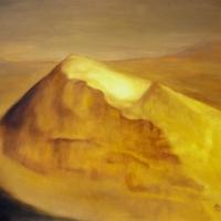 Spirito giallo, olio su tela cm 100x70