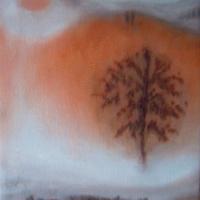 Leggerezza, olio su tela cm 35x50
