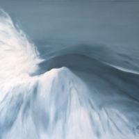 Neve, olio su carta intelata cm 70x100