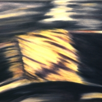Sole, pastello a olio su carta cm 76x56