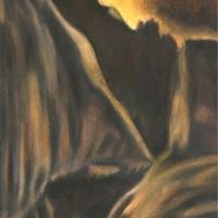 Marte, pastello a olio su carta cm 35x50