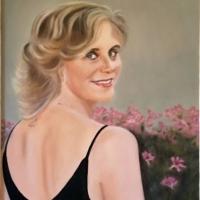 Francesca, olio su tela cm 70x50